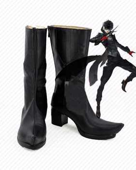 Persona 5 hero Boots Cosplay Joker Anime Shoes - DISCOUNT ITEM  19% OFF All Category