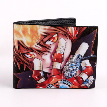 HITMAN REBORN Wallet Hetalia Folding Style Colorful Overwatch Short Purse Card Holder One Punch Man Zero Money Bag