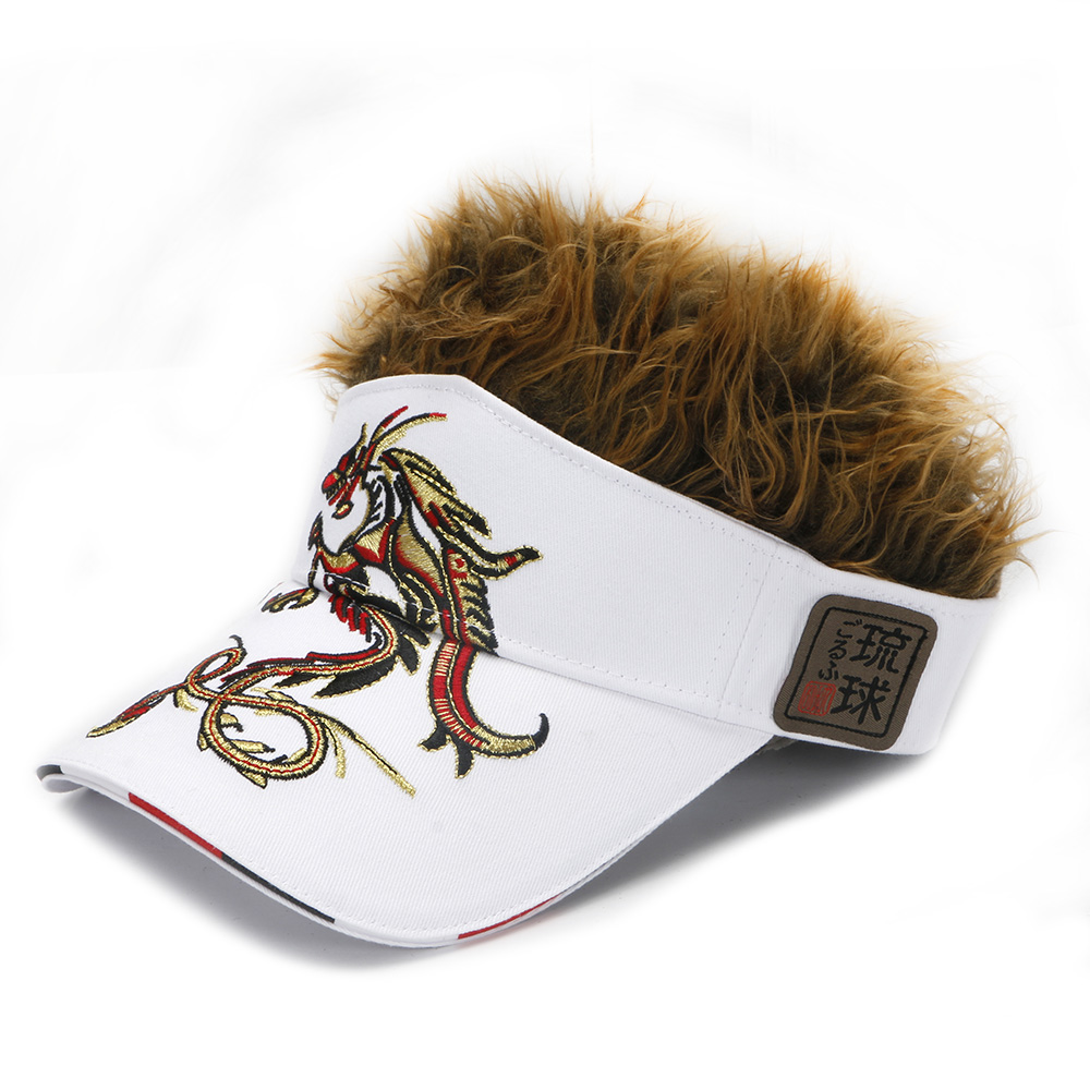 Gorra de golf para hombre Dragón Falso Sombrero para el cabello, - Ropa deportiva y accesorios - foto 5