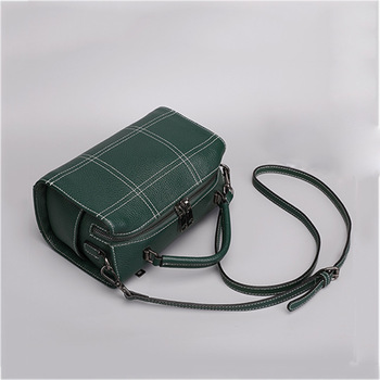 2019 New Brand Fashion Box Shape Casual Cowhide Genuine Leather Luxury Handbag Travel Designer Crossbody Messenger Shoulder Bags