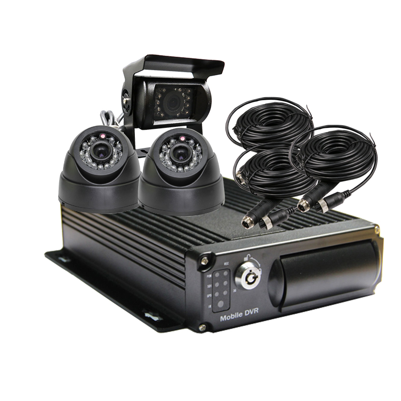 256G SD Car Vehicle DVR Video Recorder Kit CCTV SONY 600TVL CCD Rear View Camera Dome