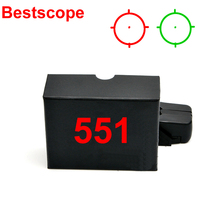 Cheap price 551 Holographic Sight Red&Green Dot Scope Tactical Outdoor Sport Telescopic Sight For Airsoft For Hunthing