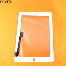 купить NEW Touch Screen Black/White For Ipad 4 A1458 A1459 A1460 TP Digitizer Front Glass Replacement по цене 650.74 рублей