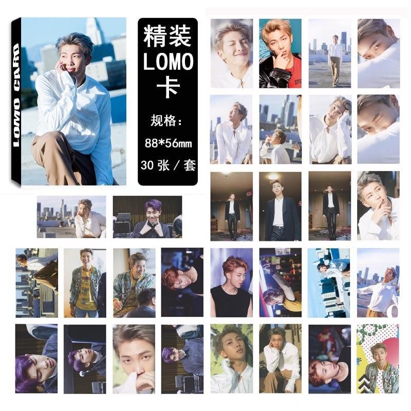 [MYKPOP]BTS DICON #5 RM Photo Album LOMO Cards Paper Photo Card HD Photocard SA180051003