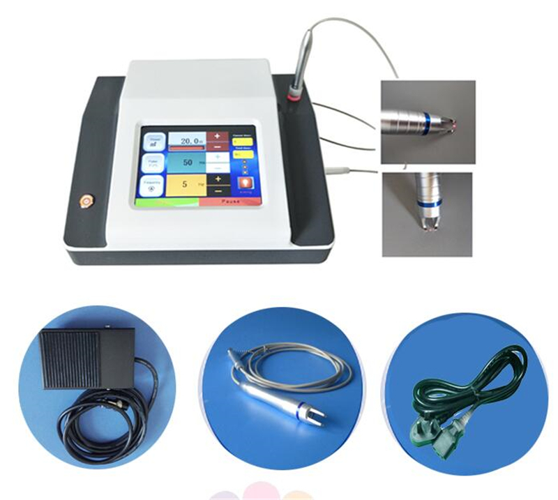 5 Spot Size 0.2mm 0.5mm 1mm 2mm 3mm Pro 980nm Diode Laser Spider Vein Removal System Vascular Removal Beauty Machine