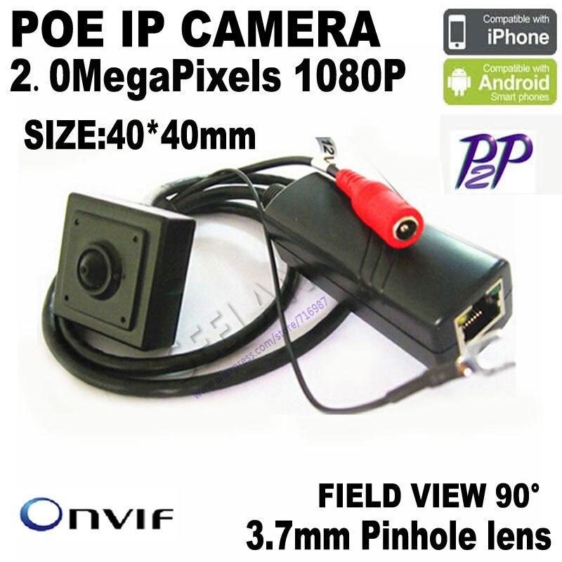 1080P Mini ip camera 2.0 Megapixel 1920x1080P POE Ip Camera Poe HQCAM IP 1/2.7