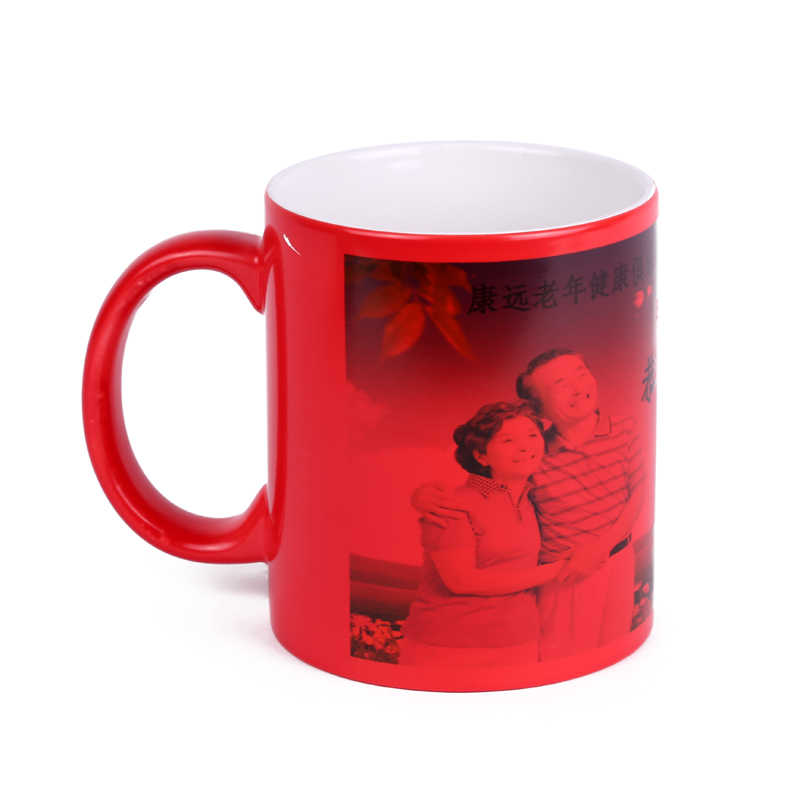 Wtsfwf Cheap High Quality DIY Customized Magic Mugs 11OZ Magic Sublimation  Mugs