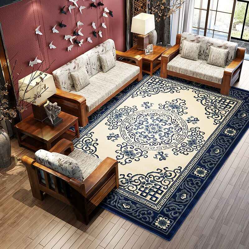 Traditionele Chinese Patroon Big Size Thicken Tapijt, Kantoor Kamer Tapijt, Salontafel Tapijt, Klassieke Home Decoratie Mat