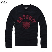 Long Sleeve T Shirt O Neck Men Spring And Autumn Wear Causal Letter Embroidery