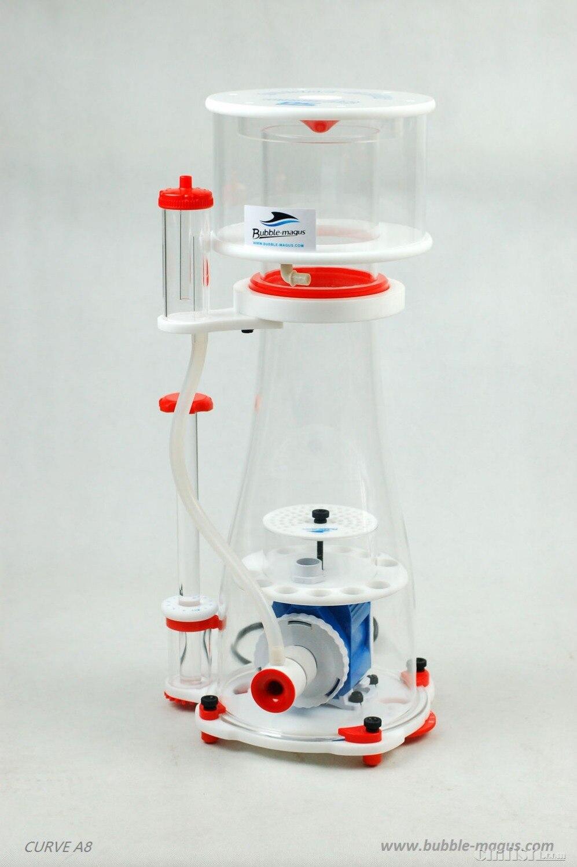 24V Bubble Magus Curve A8 Aquarium Internal Protein Skimmer Sump Pump Saltwater Marine Reef Needle Wheel