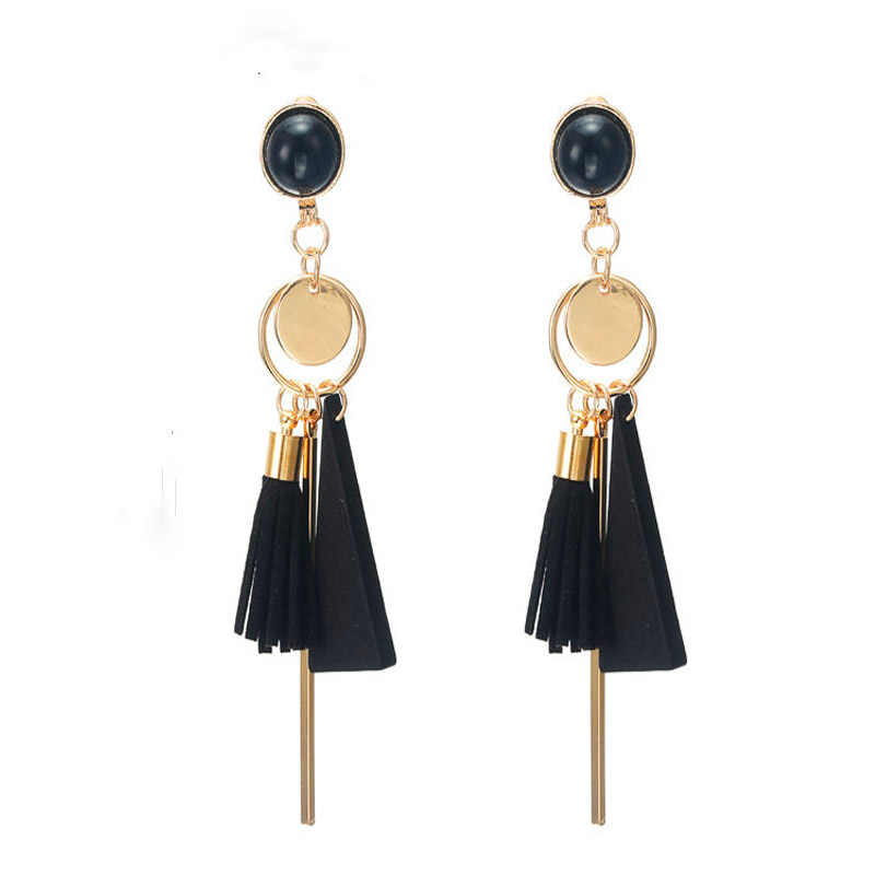 Fashion Design Geometry Drop Earrings for women red/black rectangle Earrings for women wedding jewelry gift