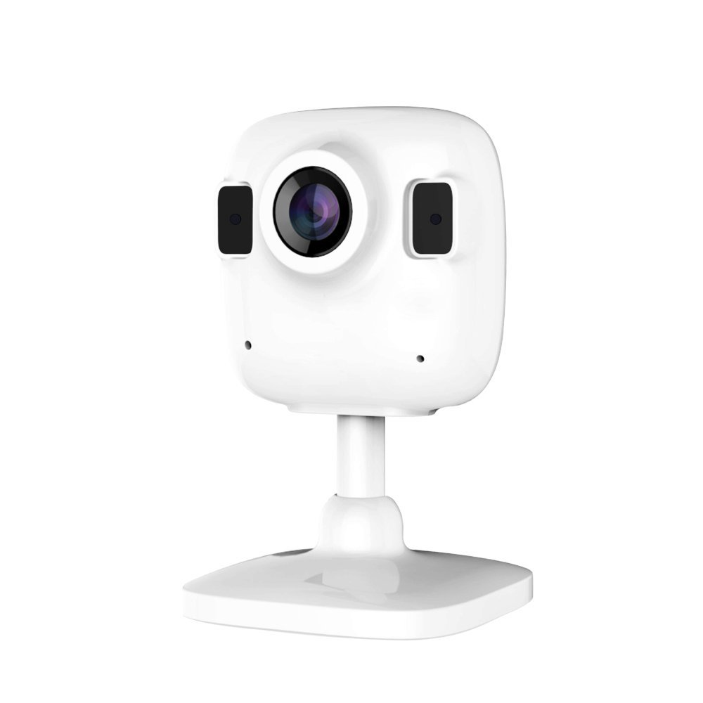 WIFI IP Camera Wide Angle Lens, HD Magnetic Base Plug with IR Led Night Vision Motion Detection Two Way Audio Security Camera white black escam qf506 black wifi ip camera security monitoring alarm cctv ip camera 720p lens ir night vision two way audio