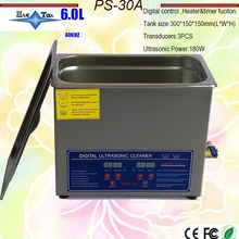 Heated Ultrasonic-Cleaner Warehouse Free-Basket 40khz EU PS-30A 220V with Timer