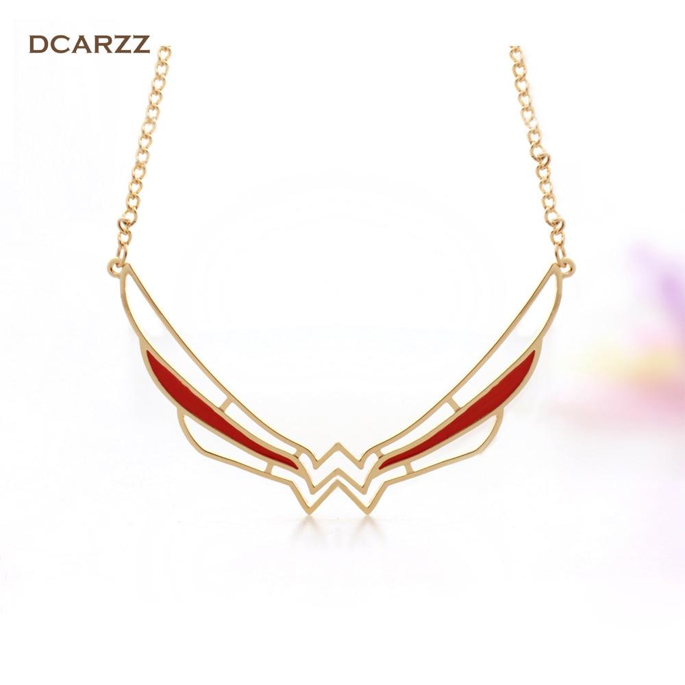 Pk bazaar women jewelry 2017 wonder woman symbol collar necklace 2017 wonder woman symbol collar necklace super hero comic jewelry wonder woman big pendant gift for biocorpaavc Images