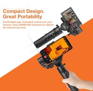 Image 3 - Zhiyun Crane M2 3 Axis Handheld Gimbal StabilizerสำหรับSony A6500 A6300 Canon M6 Mirrorlessกล้องActionกล้องและสมาร์ทโฟน