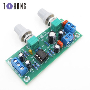 DC12-24V 78x32X1.6mm NE5532 Filter Bass Tone Subwoofer Pre-Amplifier Preamp Board audio amprifier equalizer diy hifi ne5532 preamplifier board tone treble bass preamplifiers preamp tone control pre amplifier