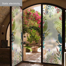 Static electricity Window stickers glass sunscreen frosted film transfer door balcony translucent bathroom