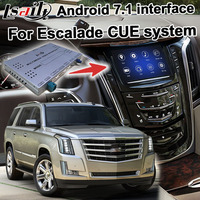 Android GPS navigation box for Cadillac Escalade etc video interface mylink CUE intellilink system with wireless Carplay