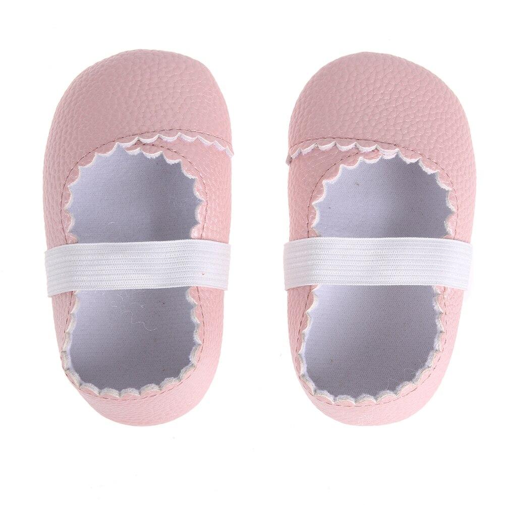 Baby Shoes PU Leather Summer Newborn First Walker Anti-slip Soft Bottom Footwear For Girl Boy