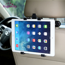 360 Rotation Bracket Back Seat Car Mount Handrest Holder for Ipad 2 3 4 Air 5 6 ipad mini Samsung Tablet PC GPS Stands Universal m07 360 degree rotation bracket w c61 back clamp for samsung i9200 ipad mini black