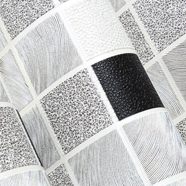Waterproof Bathroom Walllpaper: Mosaic Designs Waterproof Pvc Bathroom Wallpaper Deep