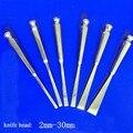 Медицинский костяной нож плоский долото круглый нож гусиный инструмент для бровей