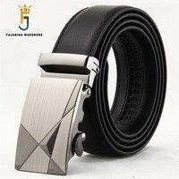FAJARINA Brand Name Formal 100 Cowhide Genuine Strap Leather Automatic Belts For Men Belts Men S