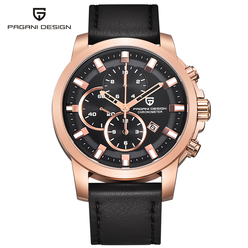 Watch men s luxury brand sports watch multifunction Pagani design Quartz Men Wrist Watch Military Watch