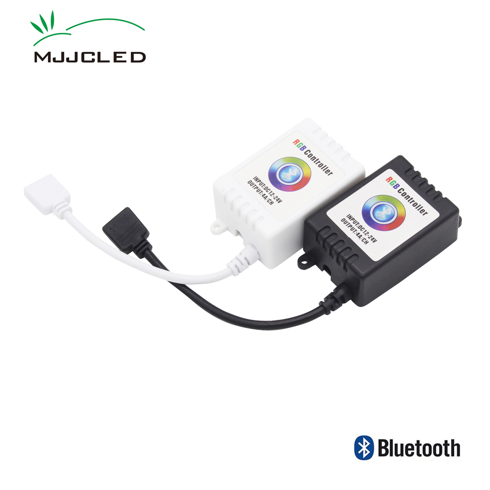 Mini Music LED Controller RGB Wireless Bluetooth Music Smartphone App Remote RGB Controller IOS Android Phone for LED Strip image