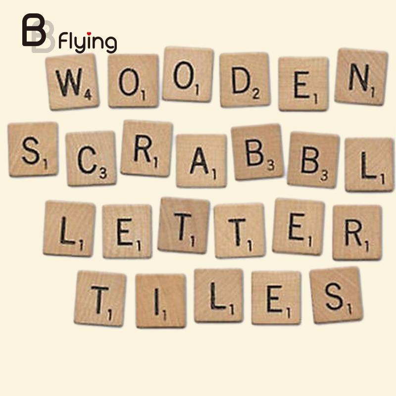 26 шт. деревянный английского алфавита блока черный письма обучения Развивающие игрушки