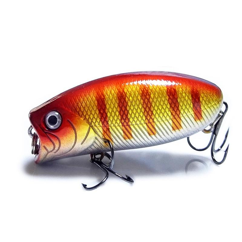 Elujõuline kalastusmaht 5,5cm 11g 8 # konksud Pesca kalahüppade - Kalapüük - Foto 3