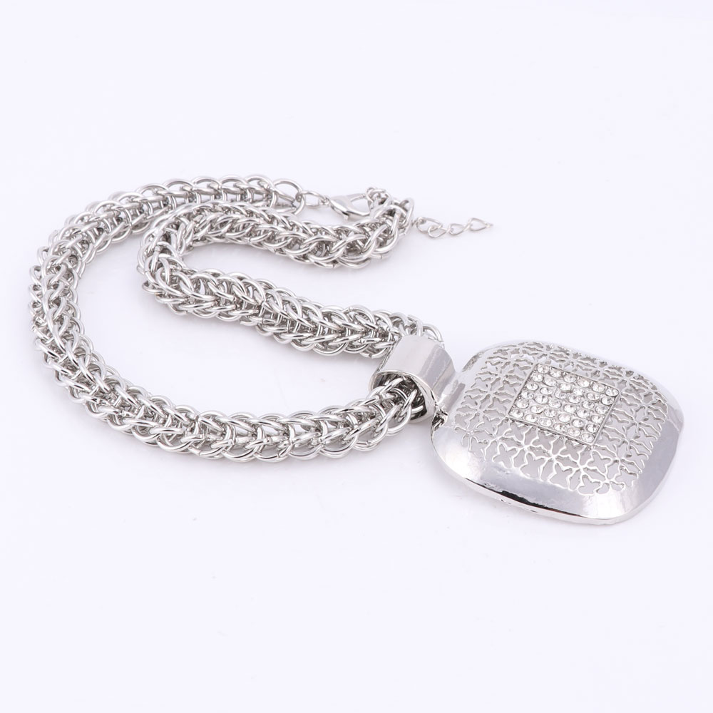 Dubai Silver Plated Fine African Beads Jewelry Sets Nigerian Wedding  Accessories Bridal Collar Costume Earrings Necklace Set In Jewelry Sets  From Jewelry