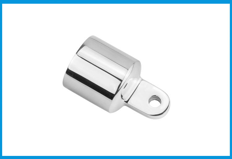 316 Stainless Steel 1 Inch Awning Accessories External Eye End Canopy Tube End Sailboat Yacht Boat Top Pipe Eye End Cap Hardware Atv,rv,boat & Other Vehicle Marine Hardware