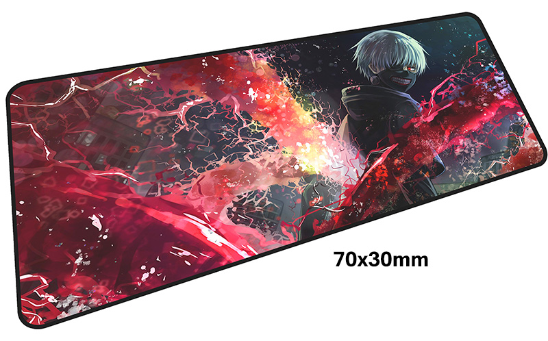 Tokyo Ghoul mouse pad gamer 700x300mm notbook mouse mat large gaming mousepad large Professional pad mouse PC desk padmouse