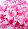 Don Nupcial de Seda das Pétalas de Rosa 2000 pçs/lote Decorações da Festa de Casamento Da Menina de Flor 16 Cores de casamento pétala só EUA 0.0026/pcs