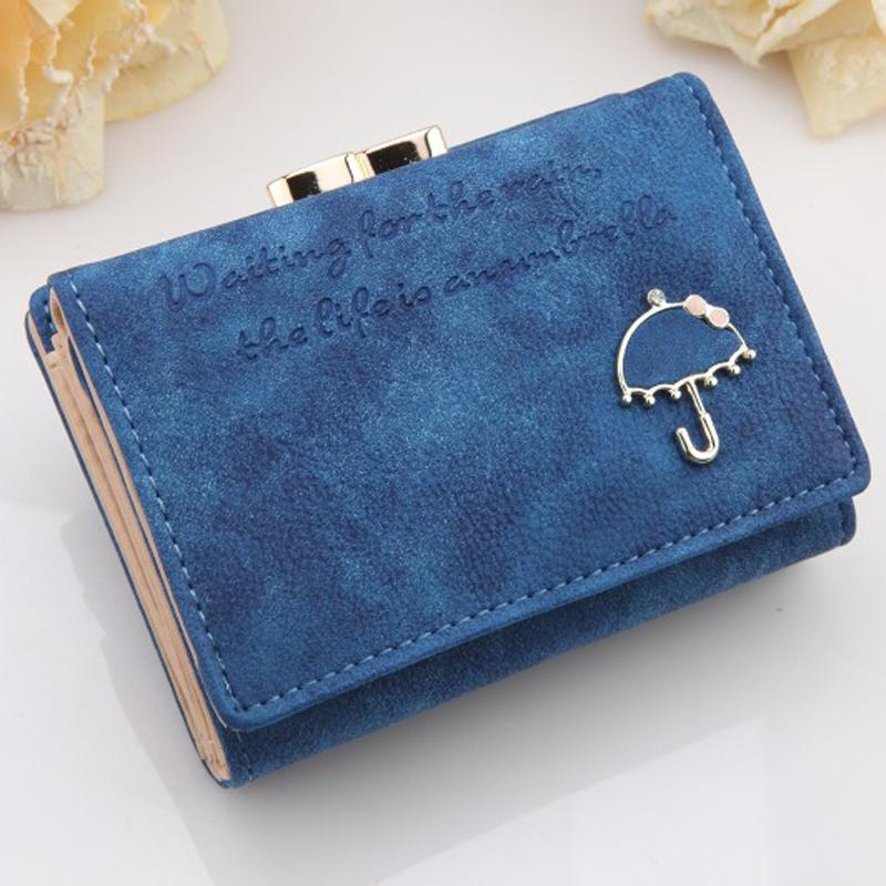 Women Wallet 2017 Fashion Portefeuille Femme Button Clutch Purse Short Wallet Card Holder Purse Women Clutch Dropshipping