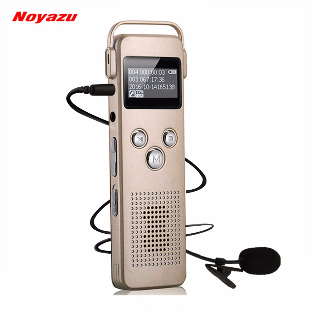 Tragbares Audio & Video Noyazu A20 Original 8g Stimme Aktiviert Recorder Telefon Aufnahme Digital Audio Voice Recorder Mp3 Player Diktiergerät Und Ein Langes Leben Haben.