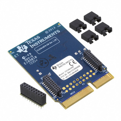 The original article CC256XQFNEM development board bluetooth evaluation module suite based on 51 of the almighty wireless development board nrf905 cc1100 si4432 wireless evaluation board