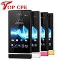 Sony Xperia U St25 St25i 3G GPS WI-FI 5MP Android Разблокирована Оригинальный Мобильный Телефон гарантия один год бесплатная доставка