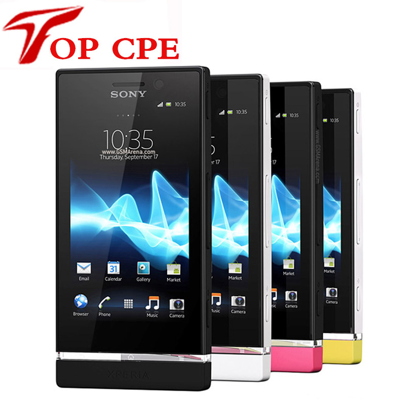 St25i Unlocked Original Sony Xperia U ST25 ST25i 3G GPS WIFI 5MP Android touchscreen Refurbished Mobile