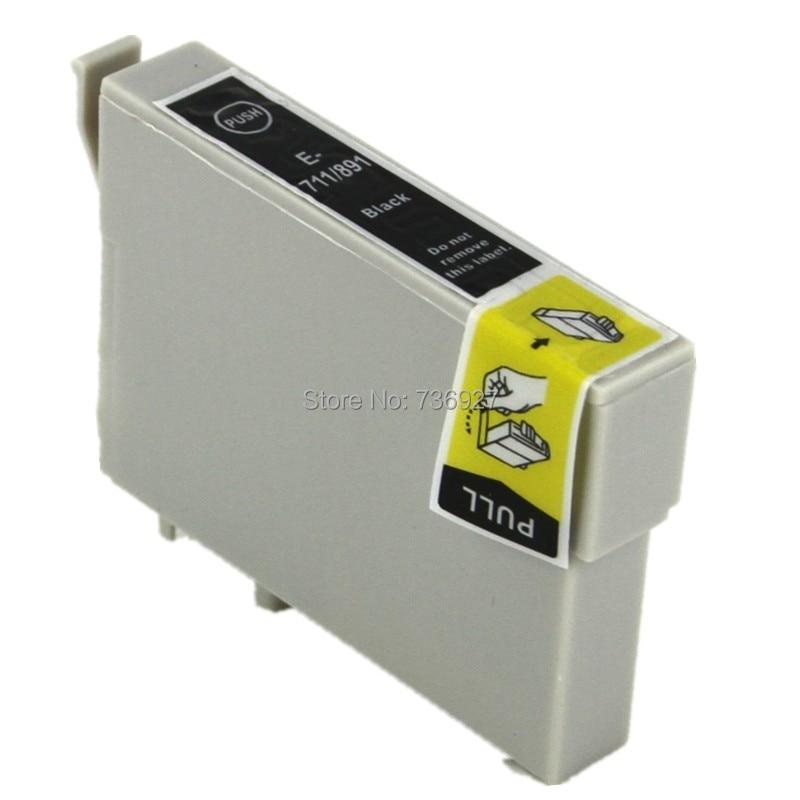 15 Schwarz T0711 T0891 Kompatibel Tintenpatrone Für Epson Büro B40W BX300F BX300FW...