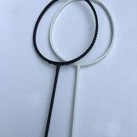 1 Piece HOT Duora 10 Black White Badminton Racket 100 Carbon Fiber Badminton Racquet Urltra Light