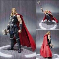 Avenger 2 Thor DIY Boxed Model Action Figures Superhero Marvel Toys For Children Kids Gift