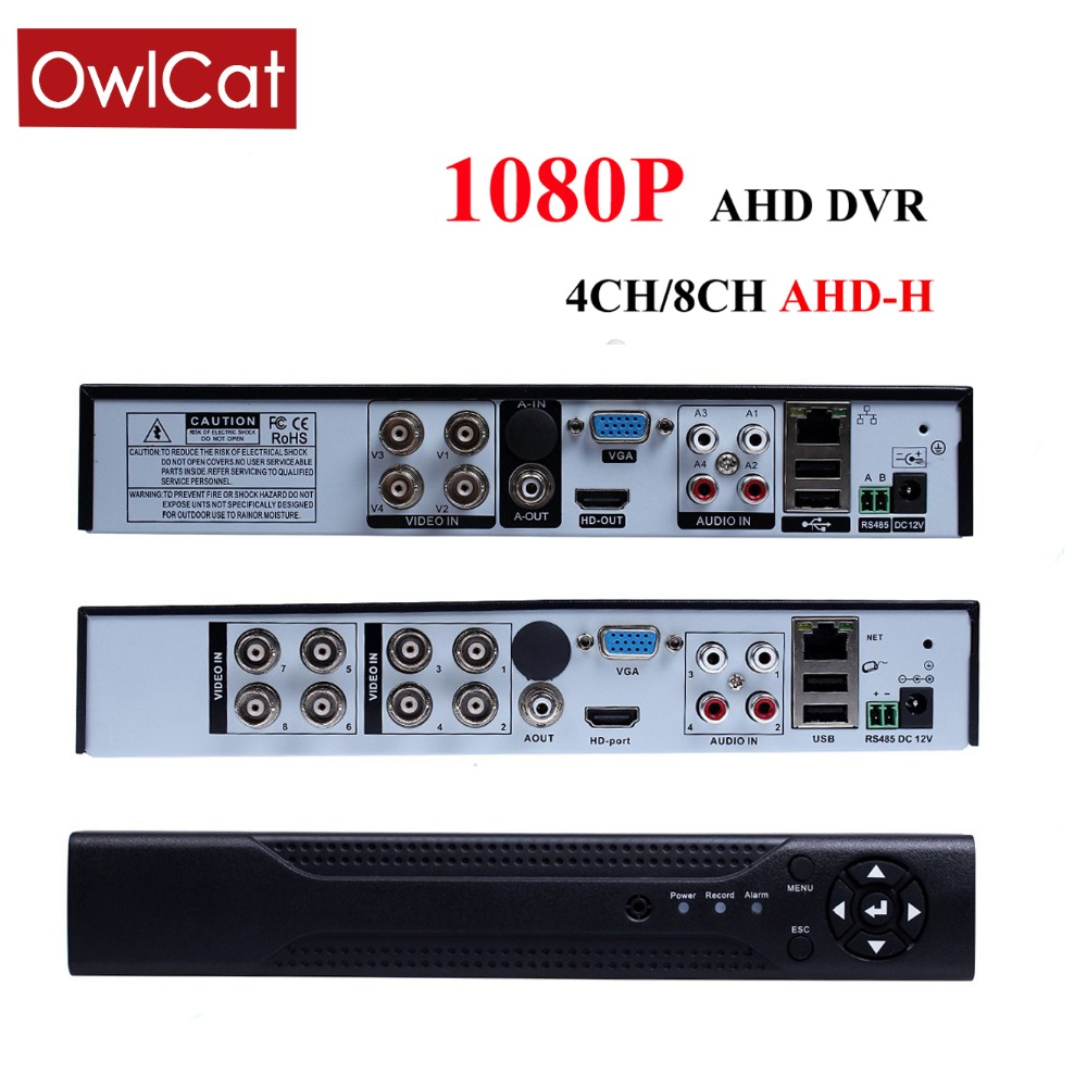 CCTV DVR 4 Channel Digital Video Recorder 4CH 8CH 1080P AHD Hybrid AHDH DVR Recorder 3 in 1 For Security Home 1080P AHD CameraCCTV DVR 4 Channel Digital Video Recorder 4CH 8CH 1080P AHD Hybrid AHDH DVR Recorder 3 in 1 For Security Home 1080P AHD Camera
