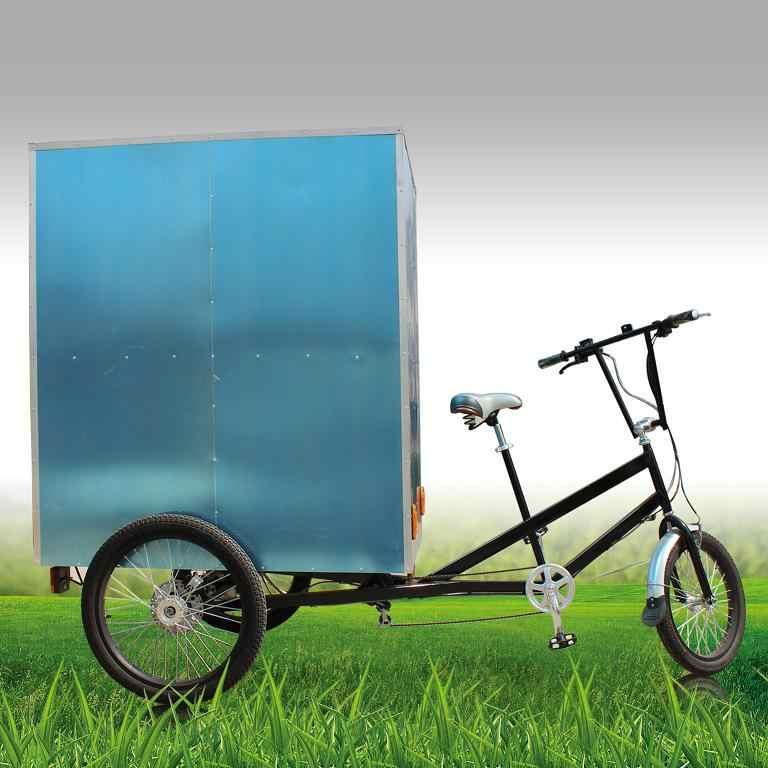 をストリート側貨物自転車 7 ギア速度三輪車貨物販売のための