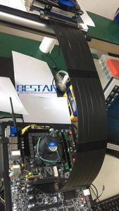 Image 5 - Coude Design Gen3.0 PCI E 16x à 16x3.0 Riser câble 5cm 10cm 20cm 30cm 40cm 50cm ic express pcie X16 Extender à Angle droit