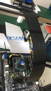 Image 5 - מרפק עיצוב Gen3.0 PCI E 16x כדי 16x3.0 Riser כבל 5 cm 10 cm 20 cm 30 cm 40 cm 50 cm PCI Express pcie X16 Extender זווית נכונה