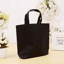 Nonwoven Grocery Foldable Bag Shopping Storage Reusable Eco Tote Bag Handbag 1 pc Casual Shopping Bag