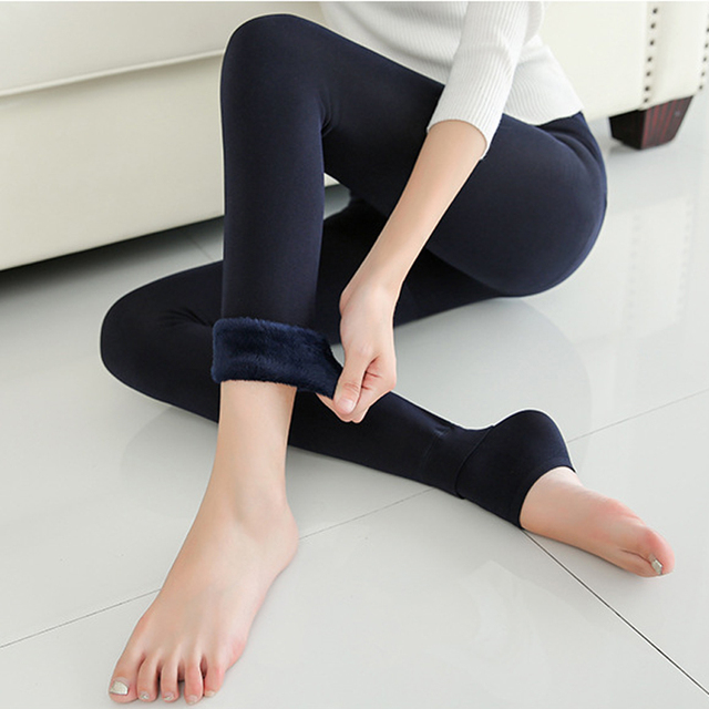 538ccedde9237 Thicken Pantyhose Stockings Women Foot Pants Tights Warm Winter Pantyhose  Stockings Winter Woman Tights Pantyhose Collant