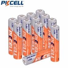 12 قطعة/PKCELL 1.6 فولت Ni Zn بطارية 900mWh AAA بطارية قابلة للشحن 3A Bateria Baterias aaa نيزن بطارية للعب مصباح يدوي